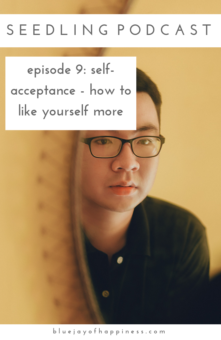 Seedling podcast episode 9 - Self-acceptance - how to like yourself more